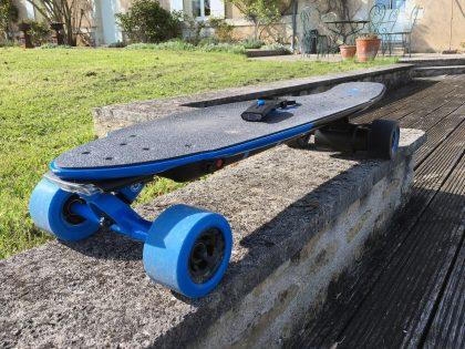 Test d'un e-skate – Yuneec EGO-2