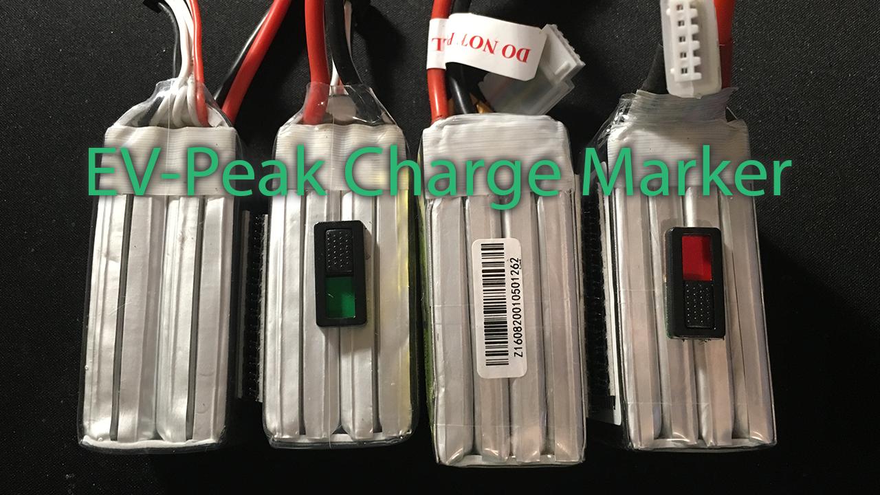 Un indicateur de LiPo – EV-Peak Charge Marker